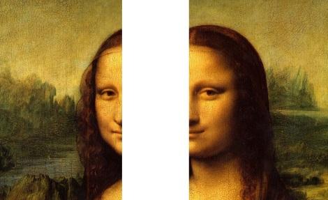 Le double visage de Mona Lisa
